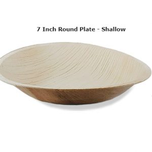 7-inch round shallow plate